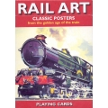 Carteles de Trenes - Rail Art playing cards